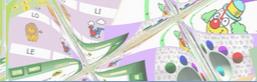 Collage di programmi creati dall'autrice.