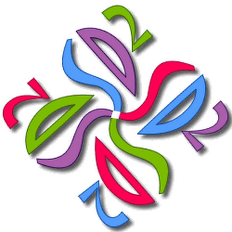 Acronimo SD2 scritto quattro volte a comporre l'immagine di una girandola.