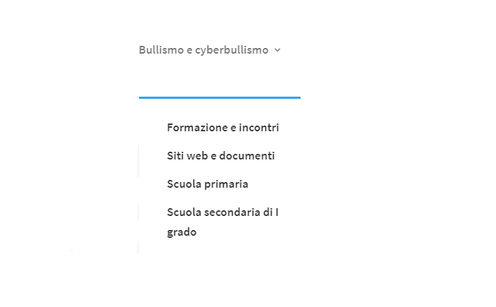 Nuova pagina del sito