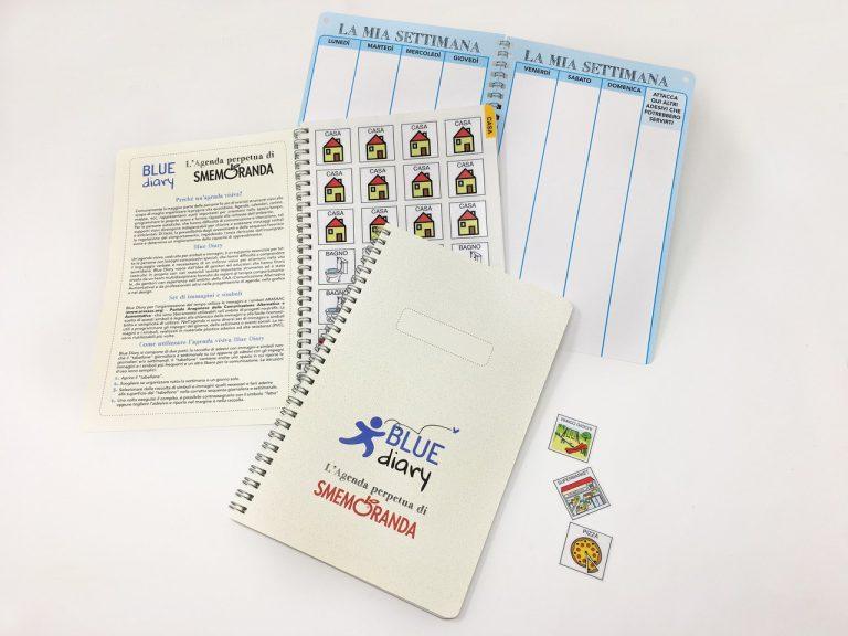 Presentazione agenda Blue Diary